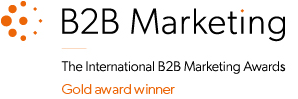 B2B Marketing Gold award winner